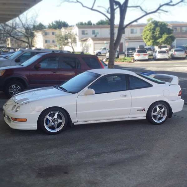 1998 Championship White Integra Type R with RegaMaster EVO Wheels