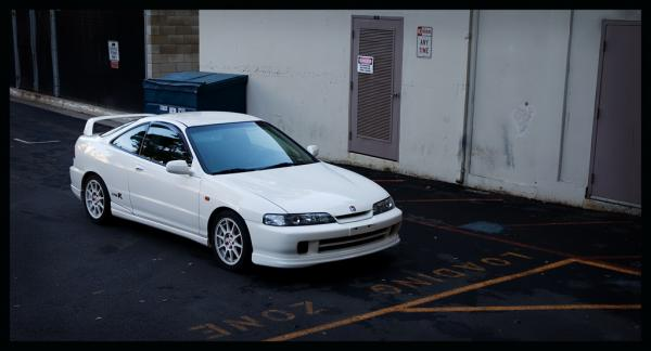 1998 USDM Integra type-r with JDM front end