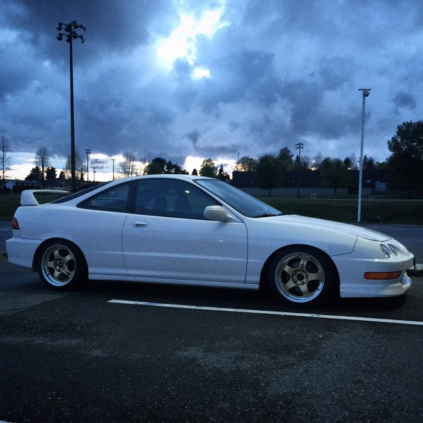 1998 Acura Integra Type-R with rims