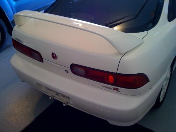 1998 Acura Integra Type-r Rear spoiler