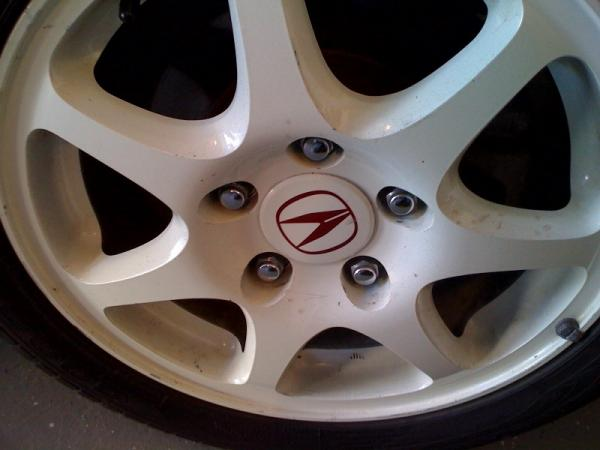 1998 Championship White USDM Wheel
