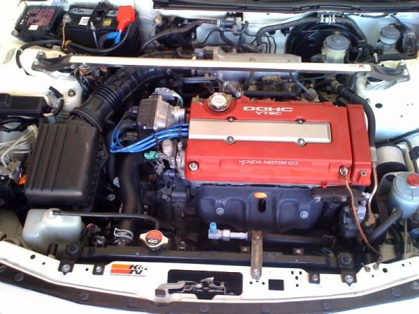 1998 Integra Type-R engine bay (b18c5)