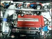 Vortech Supercharged Integra Type-R Engine