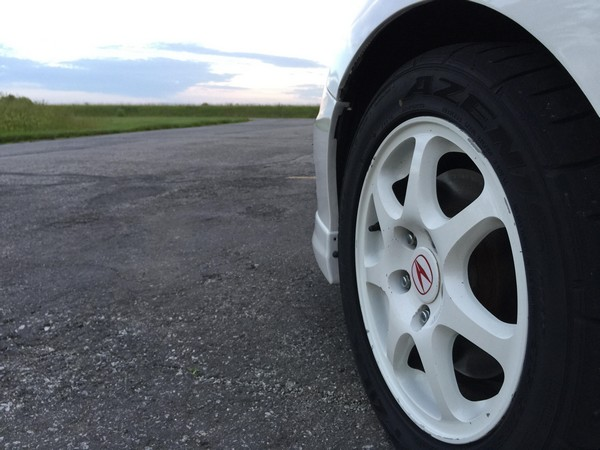 1998 Championship White Integra Type-R OEM Wheels