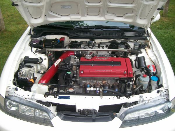 98 Acura Integra TypeR engine bay jdm front