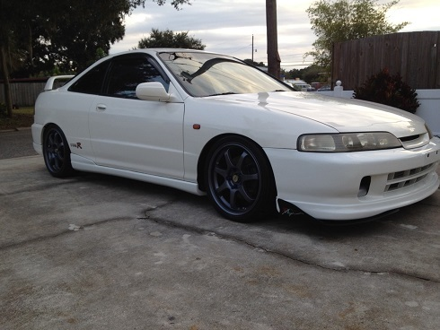 1998 CW Acura ITR with canards