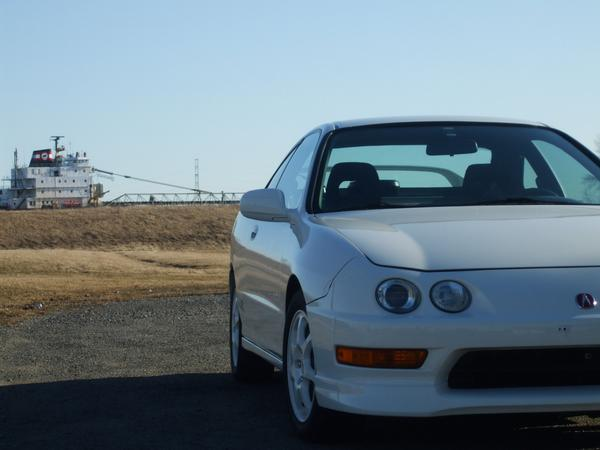 um-modified 1998 Championship White USDM Acura Integra Type-R