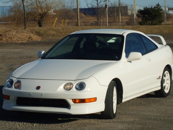 Pristine 1998 Championship White USDM Acura Integra TypeR