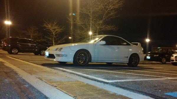 1998 Championship White USDM Acura Integra Type-R with rims
