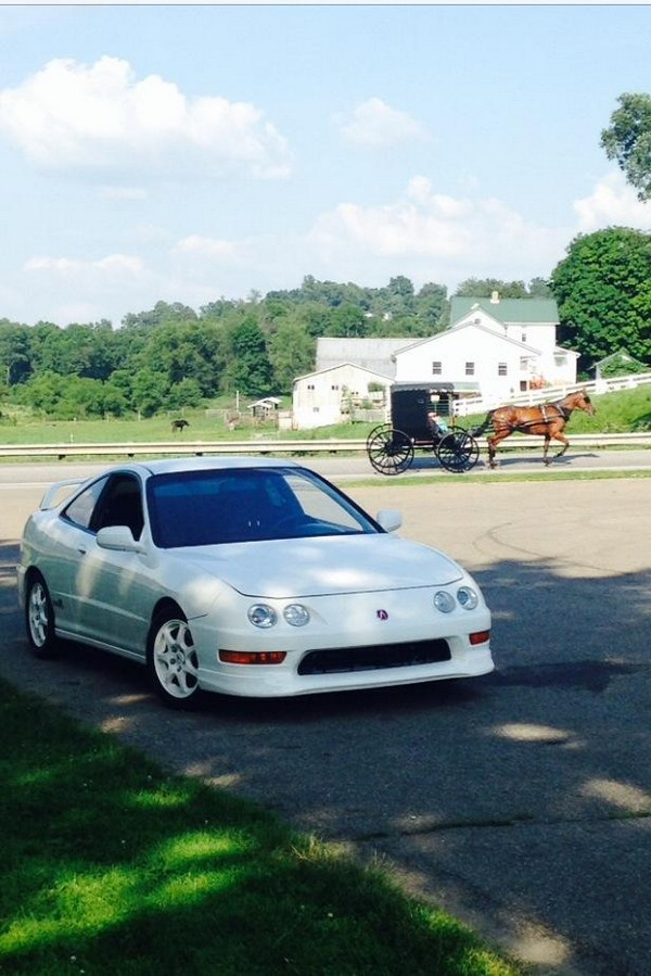 1998 Acura Integra Type-r on the farm