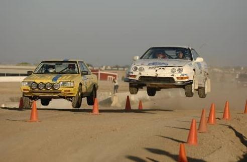 Acura Type on 1998 Acura Integra Type R Rally Car Jumping