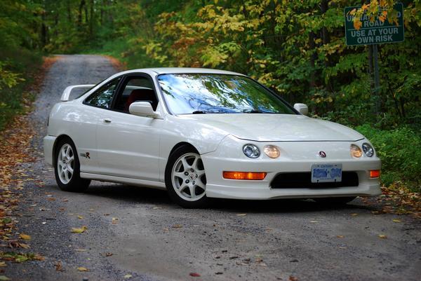 championship white 1998 OEM Integra type-r