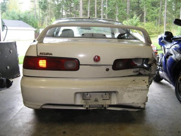 1998 Integra Type-R rear ended