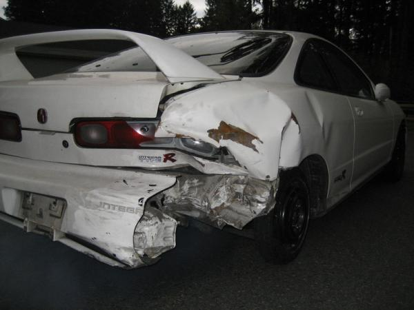 1998 Integra Type-R shell with back end damage