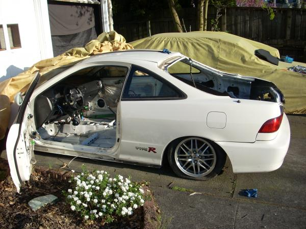 1998 Integra Type-R stripped shell