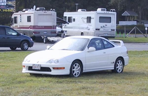 1998 Acura Integra TypeR at the track