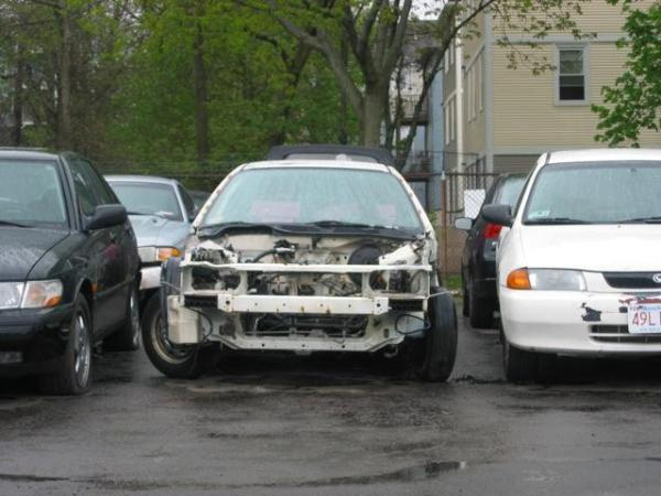 1998 Acura Integra TypeR theft recovery shell