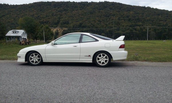 1998 Acura Integra Type-R profile