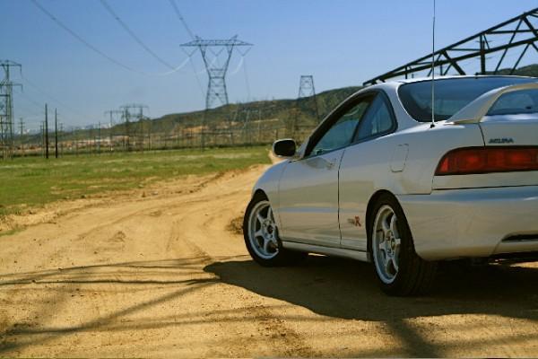 Championship White 1998 Acura Integra type-r