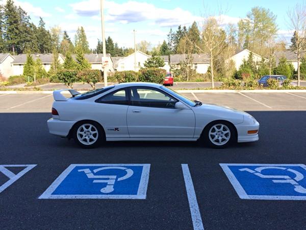 1998 CW Acura ITR passenger side