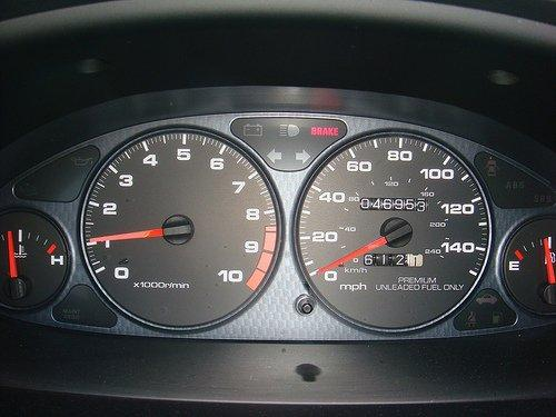 1998 Integra type-r gauge cluster