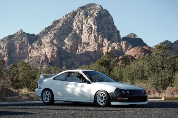 Restored Integra Type-R championship white