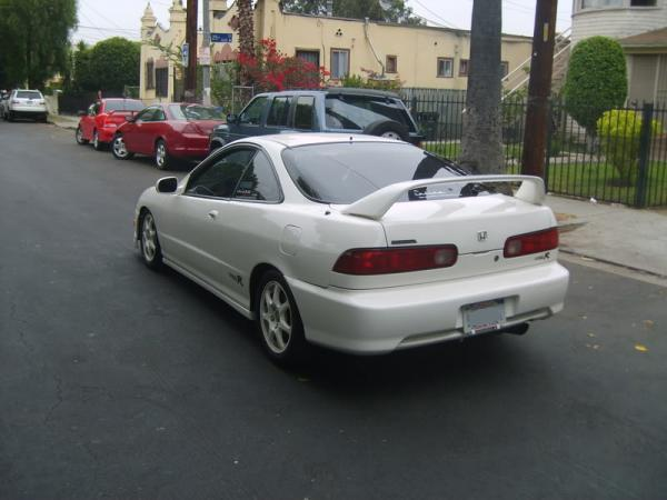 completely restored championship white integra type-r