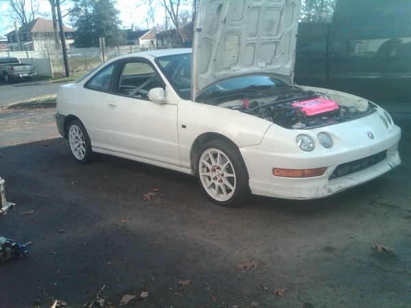 1998 Integra Type-r theft recovery