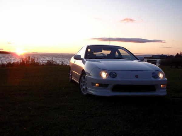 1999 Acura Integra Type-r championship white